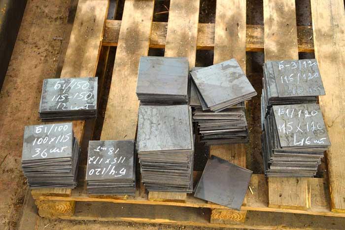Рубка металла гильотиной в Нижнем Новгороде