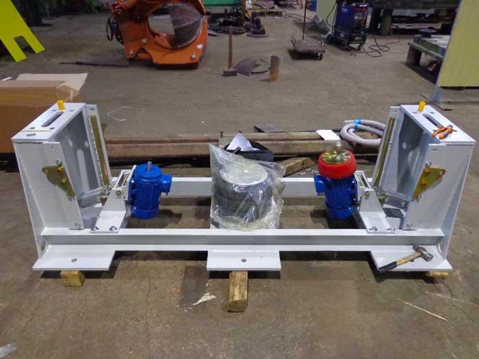 Изготовление деталей корпуса проверочного стенда, сварка, сборка