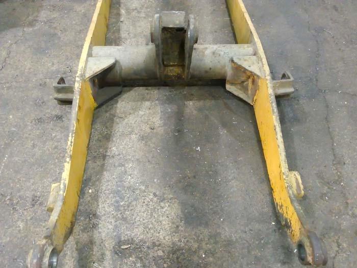ремонт балки франтального погрузчика