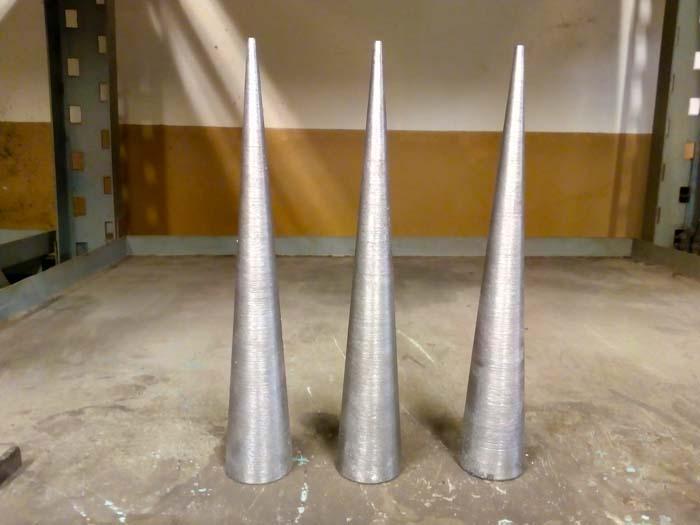 изготовление стальных конусов по эскизу заказчика (черновая обработка)