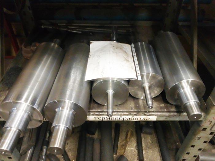 Изготовление печатных валков по чертежам заказчика