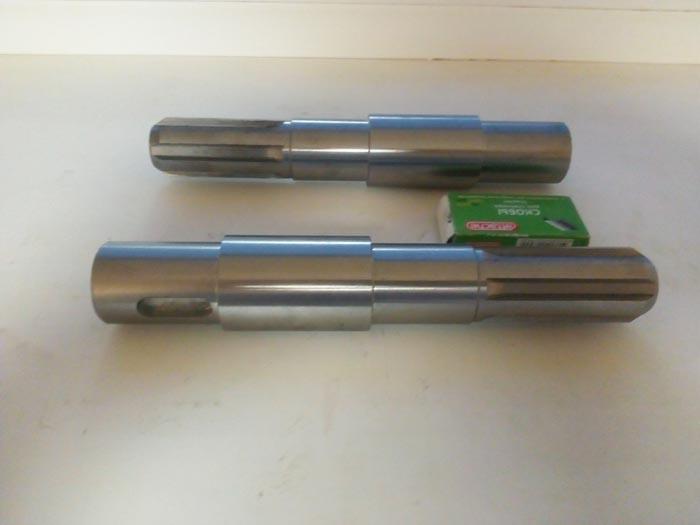 Изготовление валов (шлицевых) редуктора, Сталь 40Х, термообработка, шлифовка