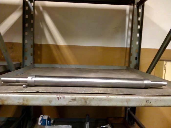 изготовление вала L=980, D=78 из стали 40Х, фрезеровка паза, шлифовка