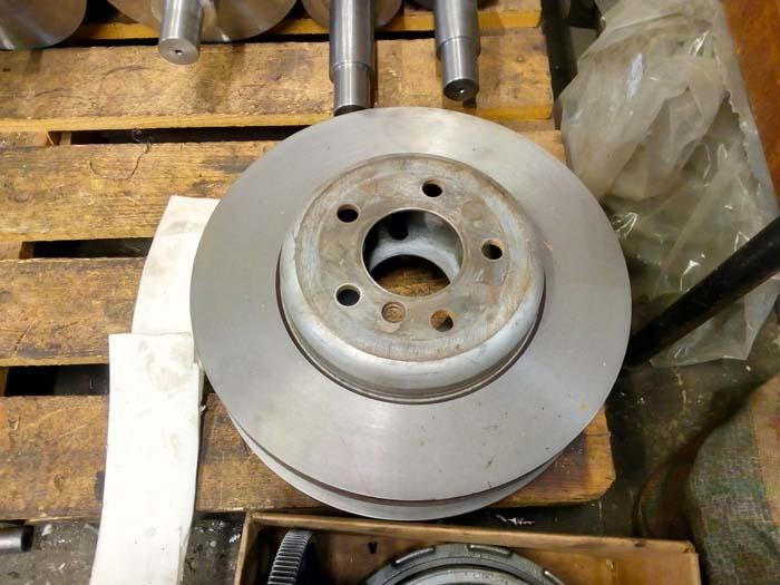 проточка тормозных дисков грузового автомобиля