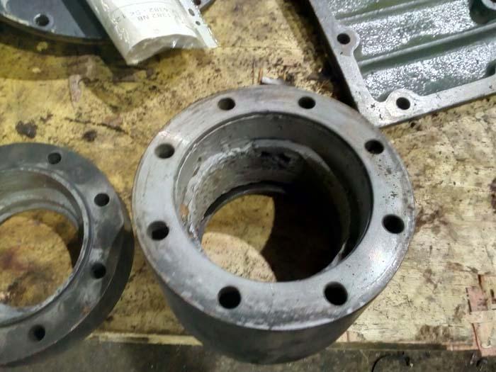 ремонт поворотного устройства редуктора