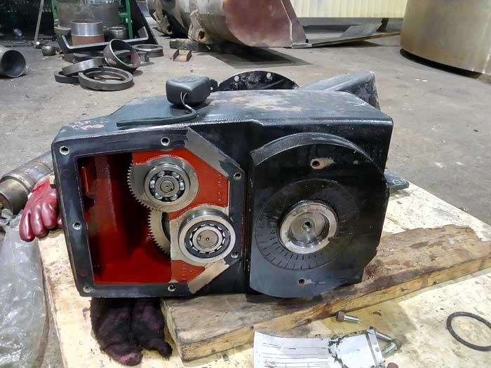 ремонт шнекового редуктора Nord SK6382A