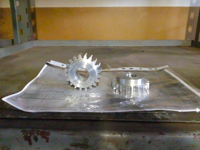 Изготовление шестеренок по чертежам, АМГ-6, m=1.5