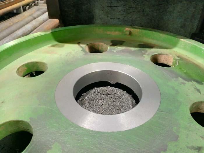 изготовление ступицы кранового колеса