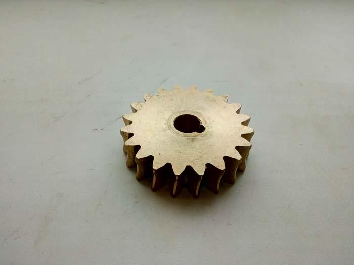 изготовление червячного колеса из бронзы