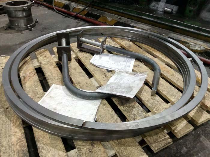 изготовление поршневых колец большого диаметра