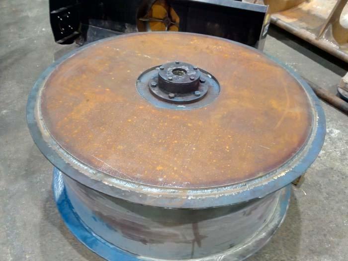 усиление щеки барабана стальным листом