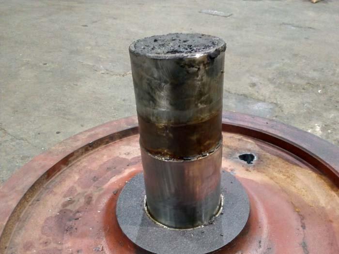 восстановление осей крановых колес