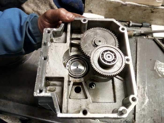 ремонт промышленного редуктора Lenze4481-Asten