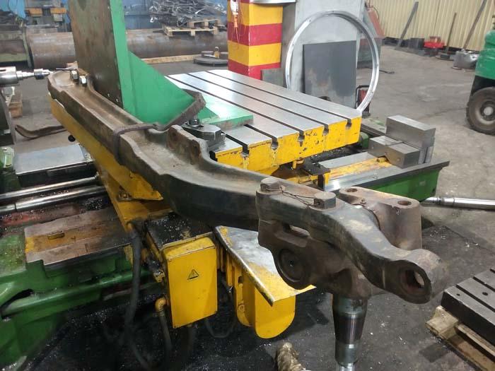 Ремонт передней балки грузового автомобиля
