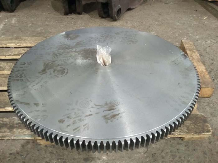 изготовление крупногабаритной шестерни большого диаметра на заказ