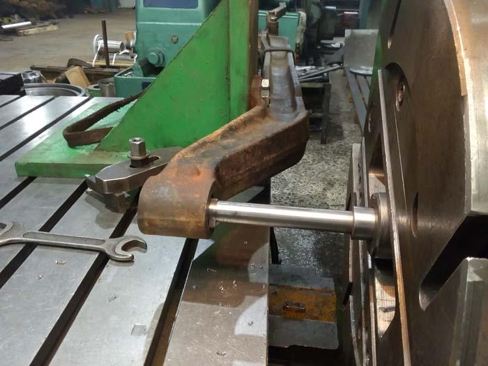 ремонт передней балки грузовой машины