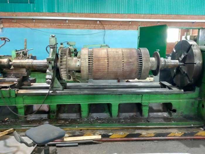 ремонт вала ротора турбины