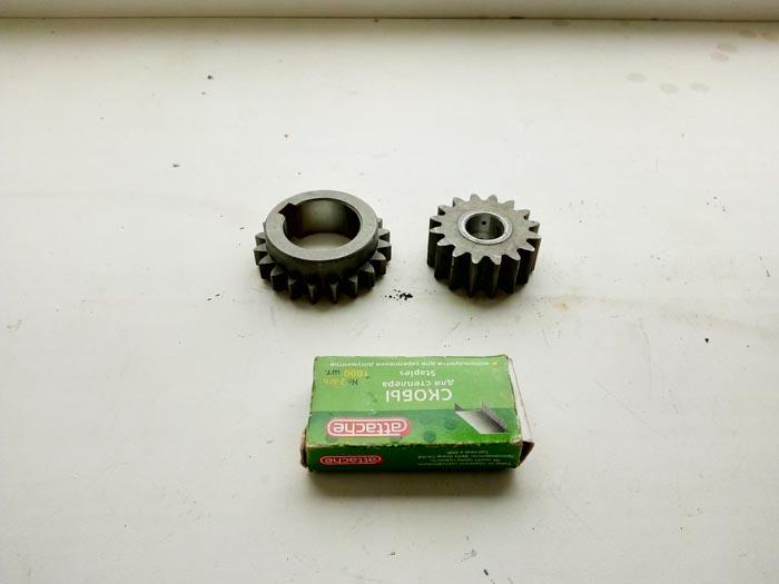 изготовление комплекта шестерен малого диаметра