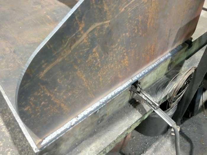 замена боковых стенок ковша фронтального погрузчика