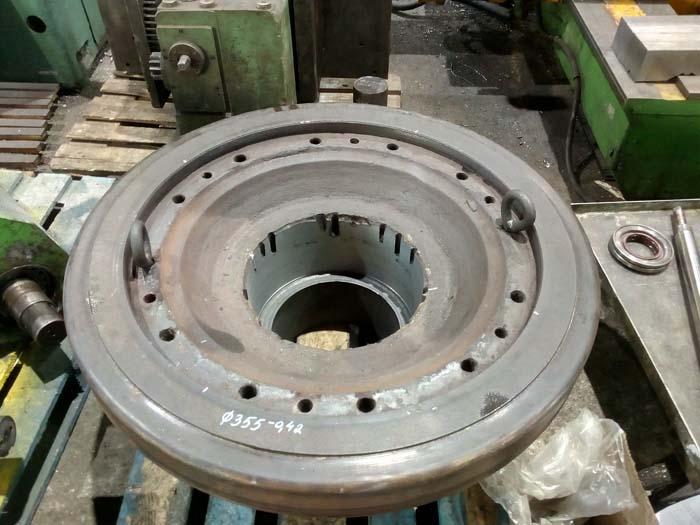 ремонт крупногабаритного флянца гранулятора