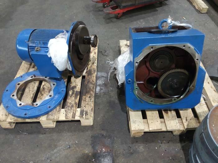 ремонт мотор-редуктора Siemens