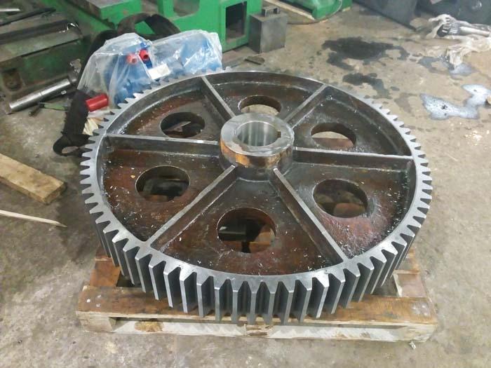 изготовление крупногабаритной шестерни большого диаметра